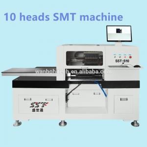 China Granite Table Top Pick And Place Machine , 10 Heads LED Chip Mounter on sale