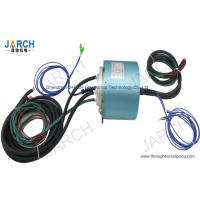 2 Channel Electro Optical Slip Ring / Rotating Electrical Connector Slip Ring , 24-2A Circuits