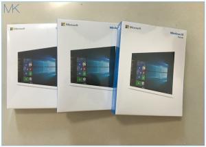 China Windows 10 Home Box pack 1 licence USB flash drive 32/64 bit English International on sale