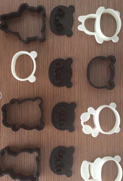 4 Pcs Essential Baking Tools Cartoon Cake Decorating