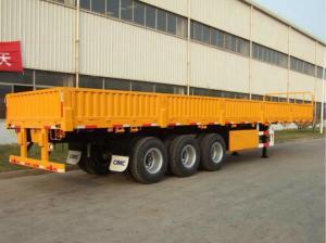 Triple Axles Storage Container Trailer 12 Sets Twist Lock