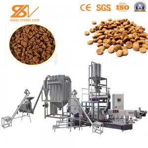 China Animal Dog Food Making Machine Dry Method Industrial Twin Screw Extruder Dry System on sale