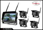 Wireless  Heavy Duty Truck 7 Inch Rearview Mirror Monitor And DVR System