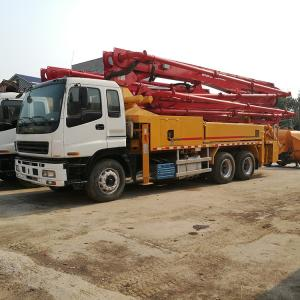 China Hot Sale Uesd Putzmeister 38 42M Truck Mounted Concrete Pump Truck  for sale on sale