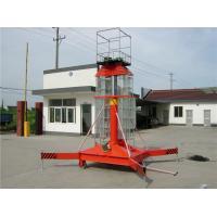 Warehouse Hydraulic Industrial Vertical Lift , Electric Lift Platform 0.8 * 0.8m