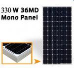 43.2V Mono Silicon Solar Panels 330W , Solar Pv Module High Transmission Glass