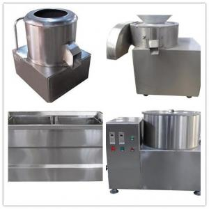 China small potato chips processing line, potato chips making  machine, potato cutter on sale
