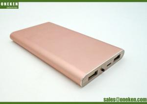 China High Compatibility Mobile Phone Battery Bank 6000MAh 170g With Dual USB Output on sale