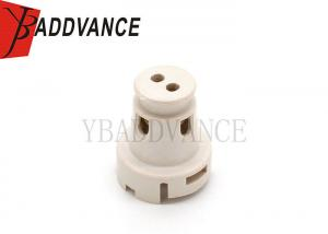 China White Color Fuel Injector Pintle Cap Two Hole Petrol Engine For Toyota on sale