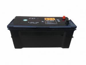 China Black 12 V 150AH Calcium Lead Acid Car Battery For Marine Boats N150MF on sale