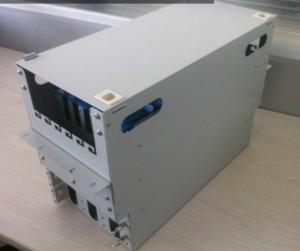 Quality 96 Ports Rack ODF Optical Fiber Distribution Frame Easy Install for sale