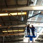AWF61 Warehouse Ceiling Fans 8400m3/Min Air Volume For Large Facilities