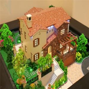 China Architectural scale model maker , villa abs 3d physical model on sale