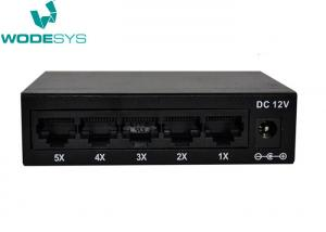 China Portable Unmanaged 5 Port Ethernet Network Switch High Speed Performance on sale