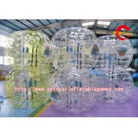 Logo Printed Inflatable Bumper Ball / 1.5m Height Adult Inflatable Bumper Ball