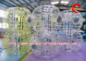 China Logo Printed Inflatable Bumper Ball / 1.5m Height Adult Inflatable Bumper Ball on sale