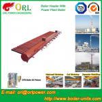 Longitudinal Oil Fired Boiler Header Manifold Once Through For Power Plant