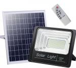 25W to 200w LED Solar Spot Light with Aluminimum Housing and Remote Controller for Yard and Garden