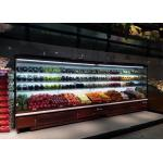 Integral Compressor Refrigerated Open Display Merchandiser With R404a Cooling Gas