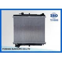 Aluminum Brazed Nissan Car Radiator TRUCK MT OEM 21410-6T001 Inlet / Outlet 35mm