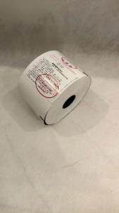 China Blank Printed Thermal Ticket Rolls , Business Printable Invoice Templates on sale