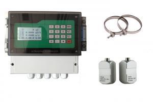 China IP66 Transit Time Digital Ultrasonic Flow Meter Wide Liquid Temperature Range on sale