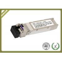 China Cisco Compatiable 10G SFP Fiber Module SM Type 20km To 80km Distance on sale