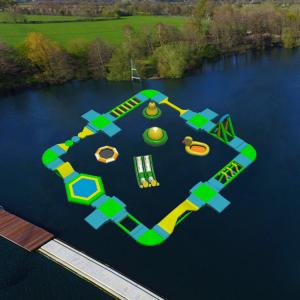 China China Factory Price Popular Large Beach Water Play Equipment Equipment,Inflatable Floating Aqua Park Project For Sale on sale