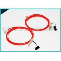 3.0Mm Fiber Optic OM2 Multimode Cable Assembly FDDI to FDDI Connector