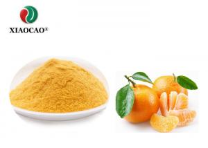 China Fine Organic Freeze Dried Fruit Powder , Freeze Dried Tangerine Light Yellow on sale
