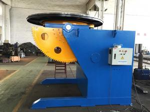 China Tilting Rotation Arc Welding Table with Positioner , 2500 mm Table Diameter Servo Rotary Table on sale