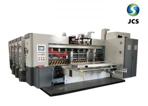 China Automatic Feeder Type Flexo Printing Rotary Die Cutting Machine Making Corrugated Box on sale