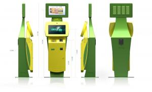 China Innovative and Smart Card Dispenser, Coin Acceptor and Telephone Multifunction Kiosk on sale
