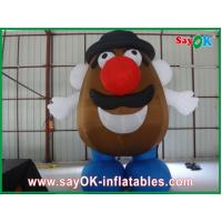 Heavy Duty Inflatable Cartoon Characters Air Model For Outdoor Advertising