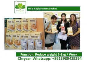 China Lose Weight Natural Meal Replacement Shakes Milk Tea Coffee Flavored Drinks on sale