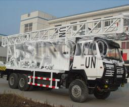 China SNR-1000C Waterwell Drilling Rig Drilling Capacity Aperture 500mm Depth 1000m on sale