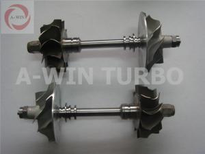China K03 Vehicle Turbo Turbine Shaft Rotor Assembly For Audi on sale