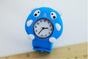 China Children slap silicone watches on sale