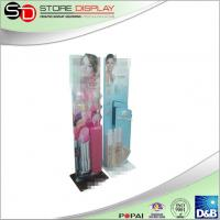 China cosmetic stands display cardboard poster display stand for supplier advertising on sale