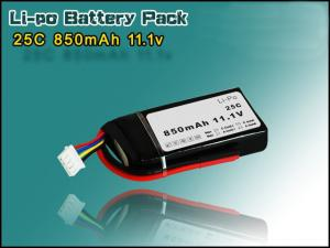 China Horizon battery  25C  850mAh 11.1V Lipo Battery  for RC Boat on sale