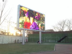 China Electronic Signs Dip P16 Outdoor LED Displays , Outdoor Full Color LED Display Billboard on sale
