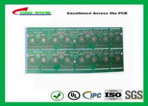 China Double side PWB with 2 Layer PCB Board FR4 1.6MM OSP 144*156mm green solder mask on sale