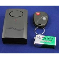 China Anti-Theft Security Vibration Alarm with Remote Control Keychain for Door Window on sale