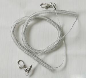 China Boat safety braid line heavy duty fishing lanyard cable fishing rod protector gray rope on sale