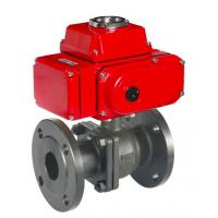 China Electrical actuated gate valve 230v 24v 12v 110v electric actuator valve ware treatment heating oil refining on sale
