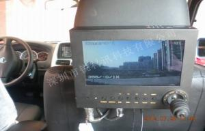 China Police Car Security 3G GPS WIFI Mobile Vehicle DVR With Monitor Control Keyboard on sale