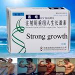 Os enrugamentos removem o pó liofilizado da hormona de crescimento humano de HGH branco antienvelhecimento