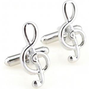 China Music Note Cufflinks on sale