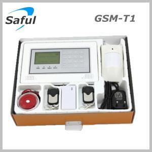 China Saful GSM-T1 GSM alarm system Anti-thief alarm burglar alarm system on sale