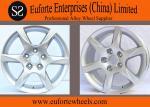 16 inch Hyper Silver Aluminum Alloy Audi Replica Wheels / Aftermarket Wheel